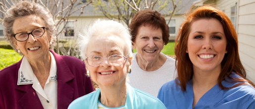 Home care individuals with home carer